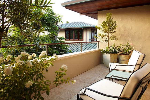 Private balcony